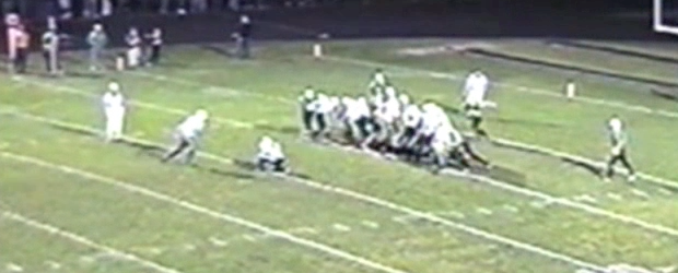 Brian Potts Extra Point Louisville Leopards Vs. West Branch 2001 Football