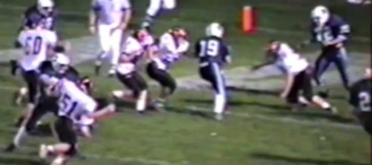 Allen Bresson Louisville Leopards Vs. Marlington Dukes Football 1999