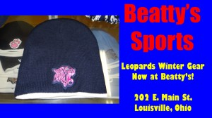 Beatty's Sports Leopard Winter Hat 1 copy