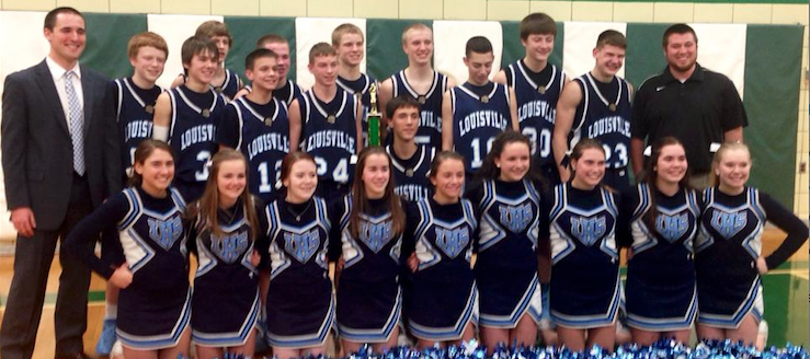 Louisville Leopards Boys Freshman Basketball Tournament Champions 2014