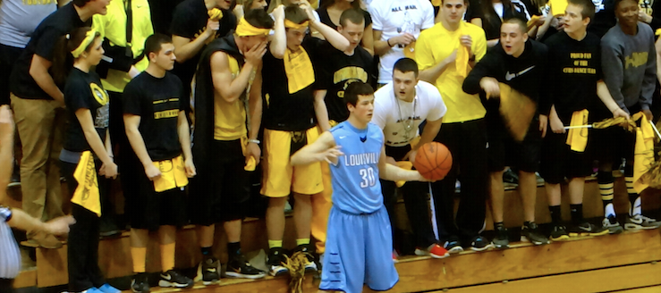 Jake Adams Louisville Leopards Cuyahoga Falls Black Tigers Student Section