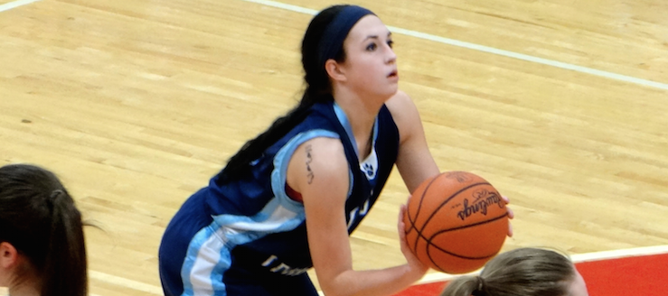 Brooke Layton 2013-14 Basketball Highlights