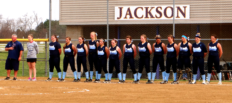 Louisville Lady Leopards Softball Team 2014 at Jackson Polar Bears