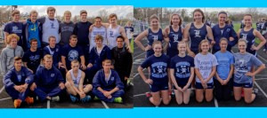 LHS Track Teams Alone in 1st After Senior Night Wins