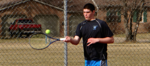 Boys Tennis Edges Marlington, Perfect at NBC Midway Mark