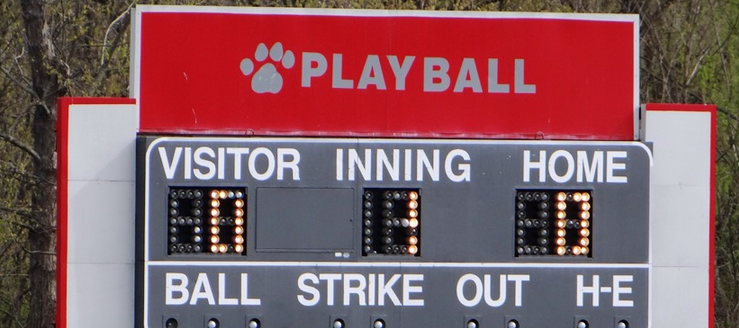 Canton South Wildcats Baseball Scoreboard