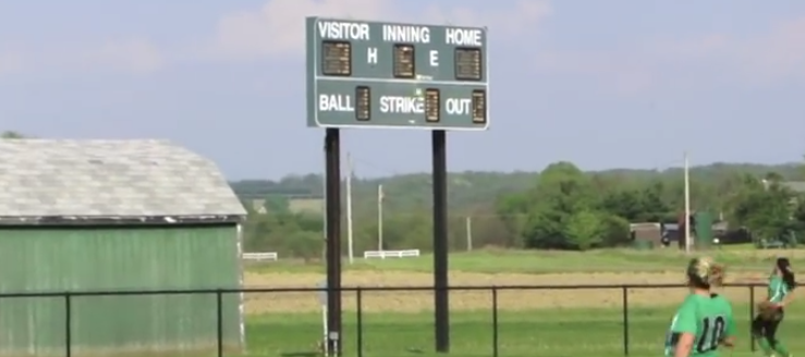 West Branch Warriors Softball Scoreboard