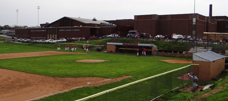 Canton South Wildcats Baseball Stadium