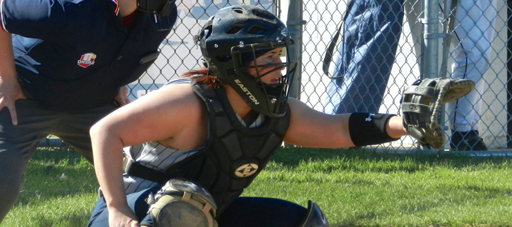 Annie Woolf Louisville Lady Leopards Softball Catcher