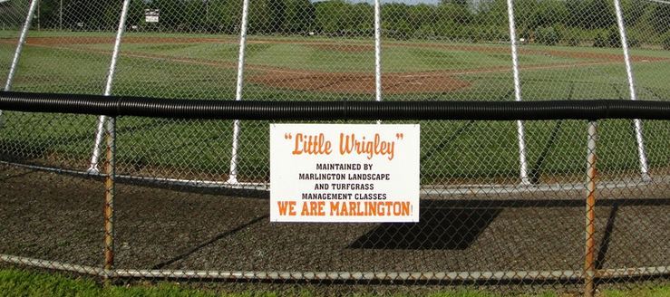 Marlington Dukes Little Wrigley Baseball Field