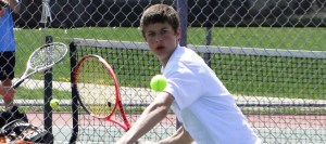 Boys Tennis Clinches Share of NBC with Win at Salem