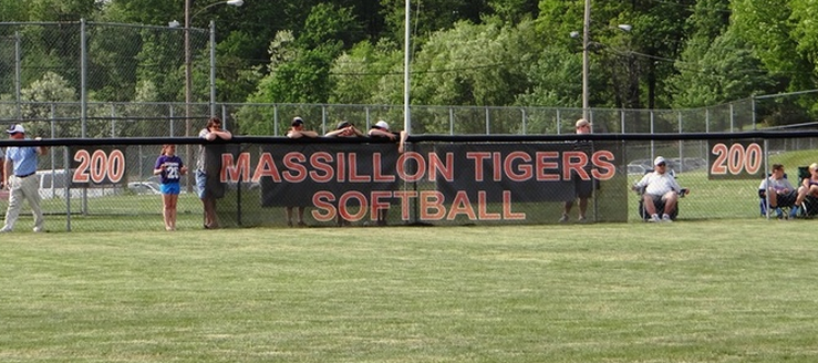 Massillon Tigers Softball Stadium