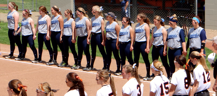 Louisville Leopards Vs. North Canton Hoover Vikings District Semfinals Softball