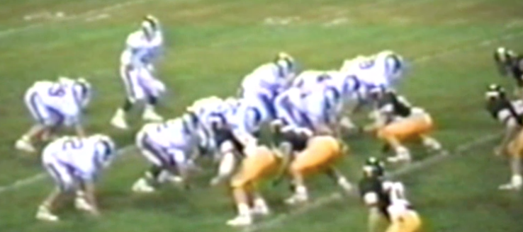 Louisville Leopards Vs. Perry Panthers 1987 Football Highlights