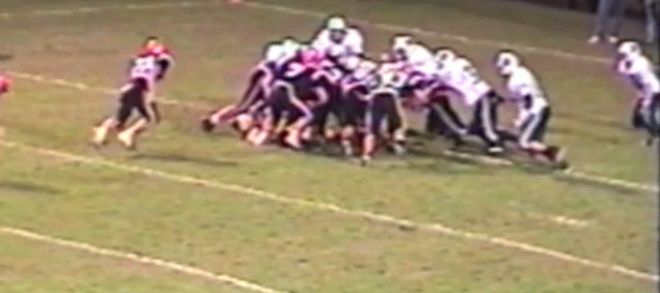 Louisville Leopards at North Canton Hoover Vikings 2004 Football Goal Line Stand
