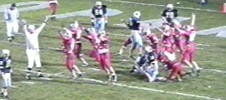 Minerva Lions Vs. Louisville Leopards 1995 Overtime Football Highlights