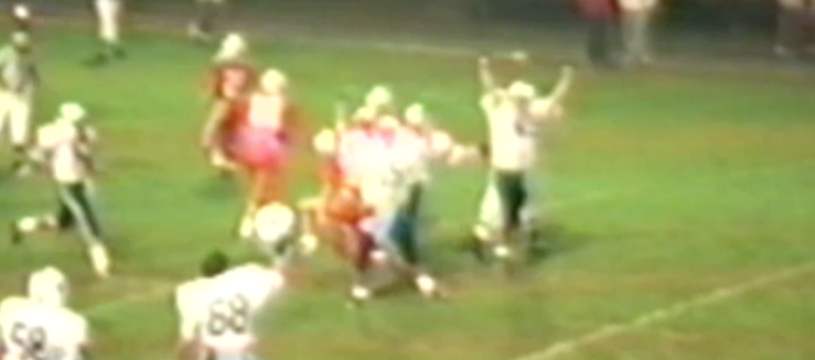 Louisville Leopards Sack Vs. Canton South 1989 Football