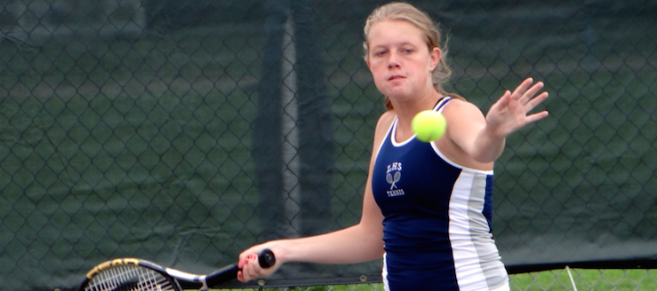 Alexis Wendt Louisville Lady Leopards Girls Tennis