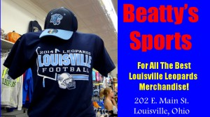 Beatty's Sports Blue Football Schedule Shirt