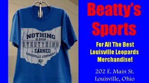 Beatty's Sports Nothing is Given Shirt Full Size Ad