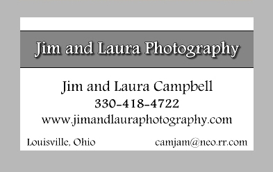 Jim and Laura Photography Ad 2014