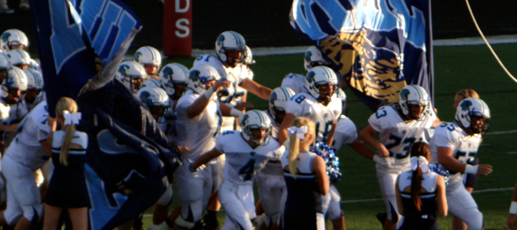 Louisville Leopards Football 2014 Vs. Canfield
