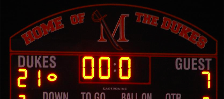 Marlington Dukes Football Scoreboard