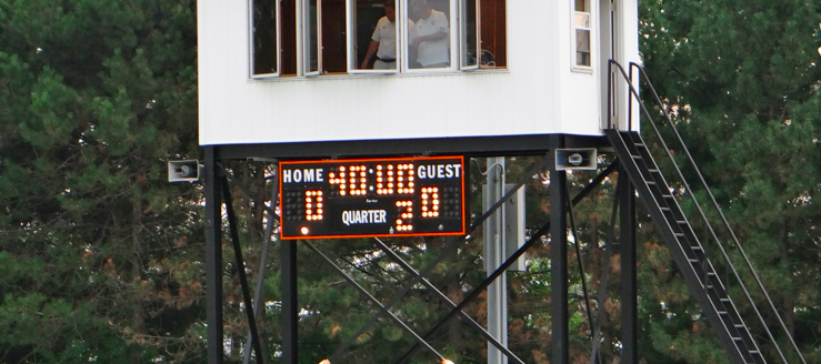North Canton Hoover Vikings Soccer Stadium Scoreboard