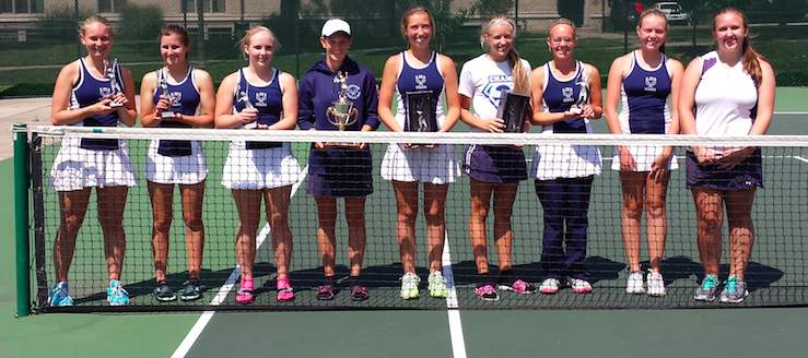 Louisville Lady Leopards Tennis Orrville Invitational Champions
