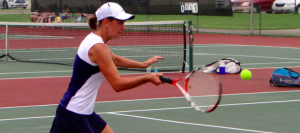 Girls Tennis Shuts Out West Branch, Stays Perfect in NBC
