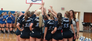 Volleyball Places 3rd at Nike Invitational Tournament
