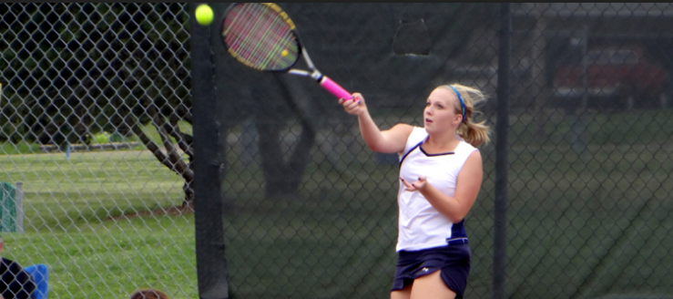 Jozie Scott Louisville Lady Leopards Girls Tennis 2014