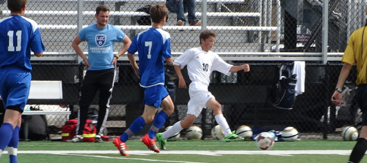 Bailey Adams Louisville Leopards Boys Soccer