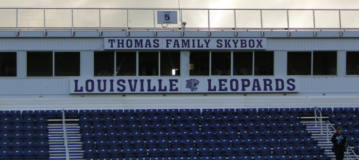 Louisville Leopards Thomas Family Skybox