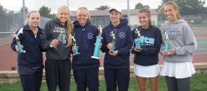 Lady Leopards Win All 3 Flites in Louisville Doubles Tournament
