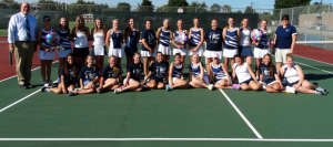 Girls Tennis Goes Undefeated in NBC for 5th Straight Year