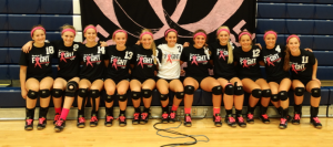 Volleyball Beats Down Cancer, Cages Lions