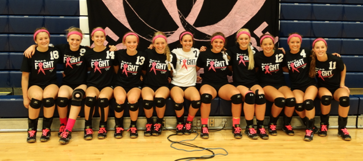 Louisville Lady Leopards Volleyball Volley for the Cure 2014