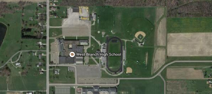 West Branch Warriors High School Campus