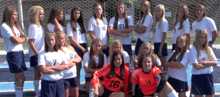 Louisville Lady Leopards Girls Soccer Pregame Scoreboard Video 2014