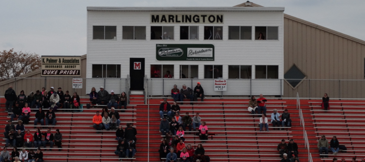 Marlington Dukes Football Press Box