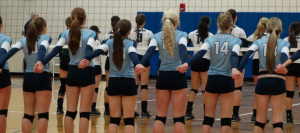 Volleyball Falls in District Semifinals to GlenOak, Finishes 17-8