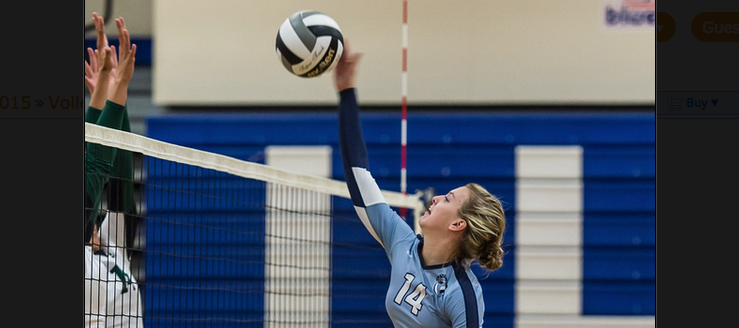 Brynn Guist Louisville Leopards Volleyball