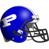 Poland Seminary Bulldogs Helmet