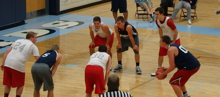 Drew Noble Louisville Leopards Vs. Northwest Indians Boys Basketball Scrimmage
