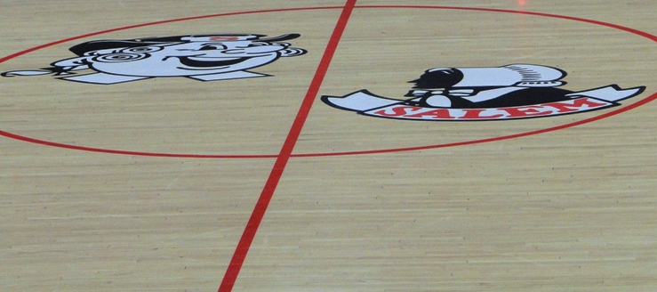 Salem Quakers Halfcourt John A. Cabas Gymnasium