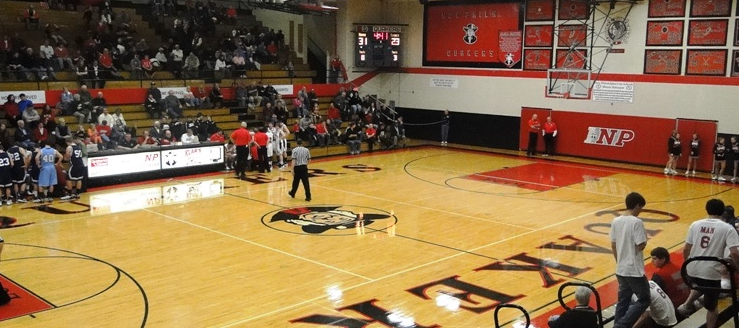 New Philadelphia Quakers Gymnasium Basketball High School Gym