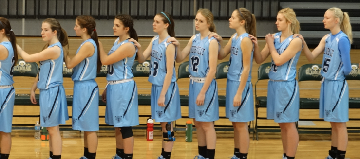 Louisville Lady Leopards Girls Varsity Basketball Team 2014-15