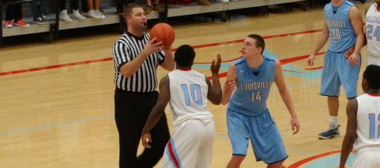 Drew Noble Louisville Leopards at Alliance Aviators Boys Basketball 2015