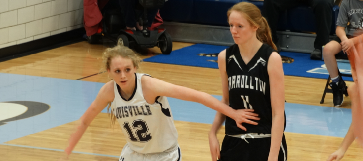 Sarah Lairson & Roz Pridemore Louisville Leopards Vs. Carrollton Warriors Basketball